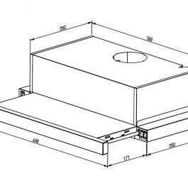 Proff 7052 ( stakleni panel )